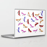 shoes Laptop & iPad Skins featuring Shoes by Paula J James