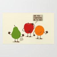 Like Apples And Oranges Rug
