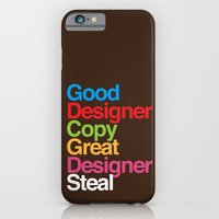 iPhone & iPod Case featuring Pablo Picasso Adopted by kojoshop