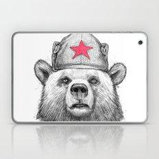 russian bear Laptop & iPad Skin