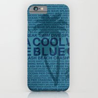 iPhone Cases featuring Summer Words Poolside and Palm Tree Hawaiian Graphic Design by Drive Industries