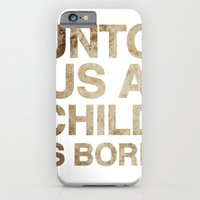 iPhone & iPod Case featuring UNTO US A CHILD IS BORN (Isaiah 9:6) by BEN MURPHY