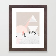 From the sky Framed Art Print