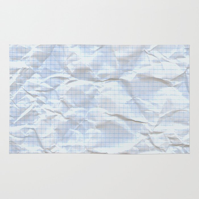 Graph open vs closed rug by pixel404 society6 for Accent rug vs area rug