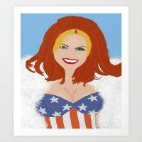 Ginger. Art Print