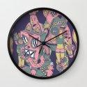 acid lunch Wall Clock