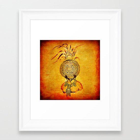 Divinity Maya Framed Art Print