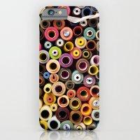 iPhone & iPod Case featuring reel by Duygu Kondoglu