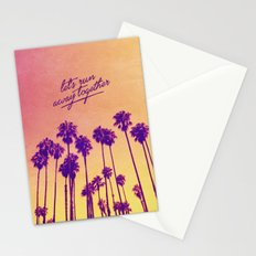 Together - for iphone Stationery Cards
