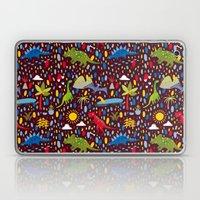 Dinosaur Repeat Laptop & iPad Skin