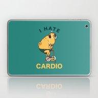 I Hate Cardio Laptop & iPad Skin