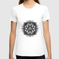 SUS Clothing  Womens Fitted Tee White SMALL