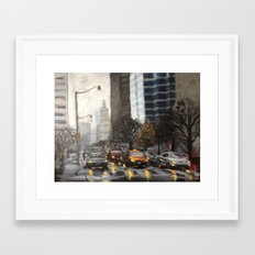 University Ave., Toronto Framed Art Print