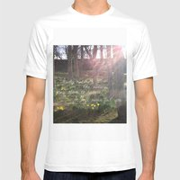 Love Nature Mens Fitted Tee White SMALL