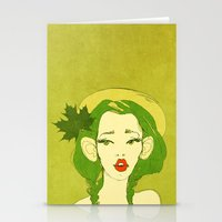 Selfie Girl_10 Stationery Cards