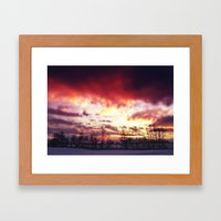 Arctic Warmpth Framed Art Print