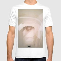 TOILET SCUM CUPID Mens Fitted Tee White SMALL
