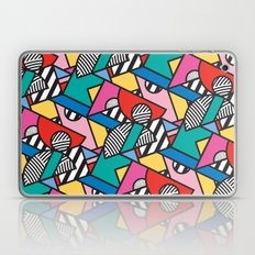 Colorful Memphis Modern Geometric Shapes Laptop & iPad Skin