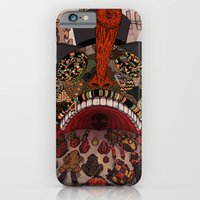 iPhone & iPod Case featuring swallow frogs by zansky