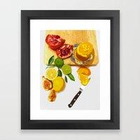 Still Life with Pomegranate Framed Art Print