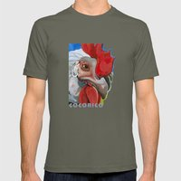 Chicken Mens Fitted Tee Lieutenant SMALL