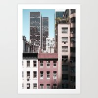View Of NYC From A MoMa … Art Print