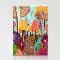 Alice In The Forest Stationery Cards
