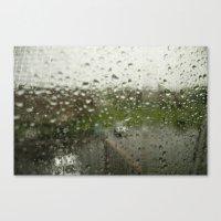 Looking Through the Rain Canvas Print