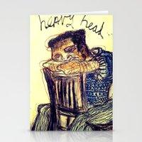 Heavy Head Stationery Cards
