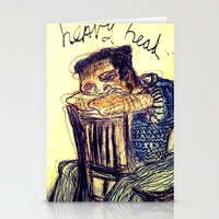 Heavy Head Stationery Cards