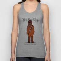 bad hair day no:3 / Chewbacca  Unisex Tank Top