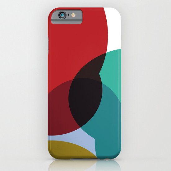 Colorful Blob iPhone & iPod Case