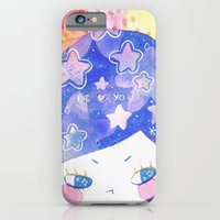 iPhone & iPod Case featuring cosmic thoughts by makkuroame