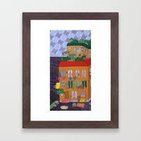 Inside Out Apartment Framed Art Print