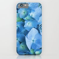 iPhone & iPod Case featuring Blue Hydrangea by Irina Chuckowree
