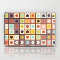 Spotted geometric pattern Laptop & iPad Skin