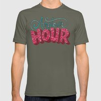 Amateur Hour Mens Fitted Tee Lieutenant SMALL