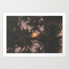 Cambodian Sunsets II Art Print