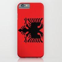 Flag Of Albania iPhone 6 Slim Case