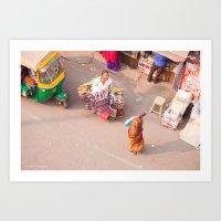 India New Delhi Paharganj 5556 Art Print
