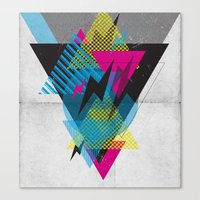 Shape Shock Canvas Print