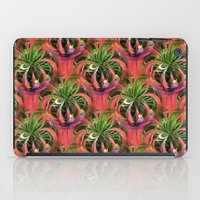 Flower Circle In Pink Gr… iPad Case