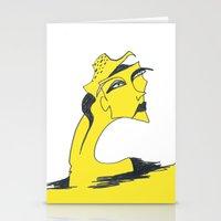 I Am Lemon Girl Stationery Cards