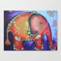 Elephanty Canvas Print