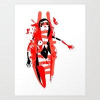 Run - Emilie Record Art Print