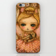 The Bunny And The Ballerina iPhone & iPod Skin