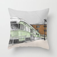 Red Hook Throw Pillow