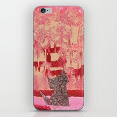 Origami Cat 3 iPhone & iPod Skin