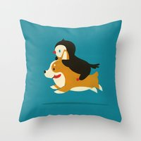 Like the Wind Throw Pillow