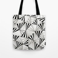 Party Triangles Tote Bag
